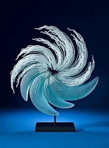 Layered glass sculptures mimic the everyday drama of the for Layered glass sculptures k william