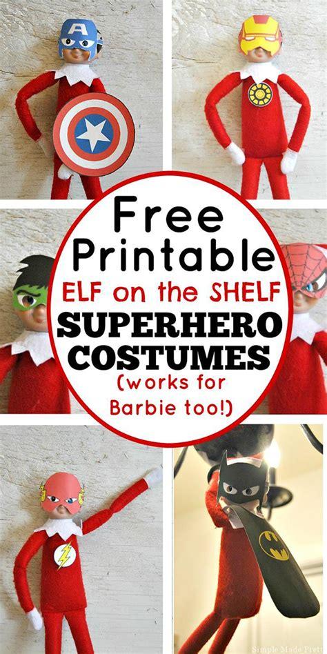 elf   shelf printables easy elf