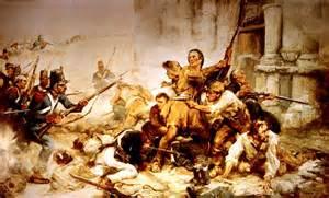 Alamo Battle Davy Crockett