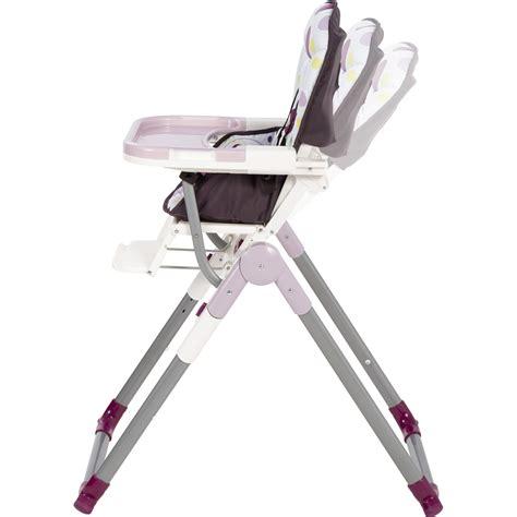 chaise haute babymoov slim pas cher chaise haute bébé slim prune 20 sur allobébé