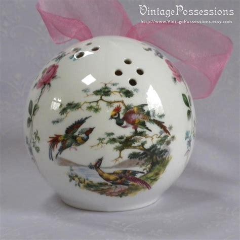 vintage ceramic pomander potpourri drawer or closet