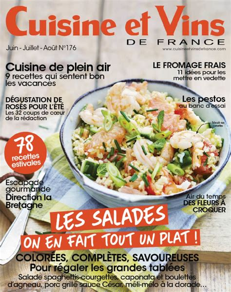 cuisine et vins de abonnement cuisine et vins de magazine digital