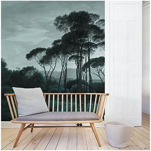 Au Fil Des Couleurs Papier Peint : pine trees papier peint au fil des couleurs ~ Melissatoandfro.com Idées de Décoration