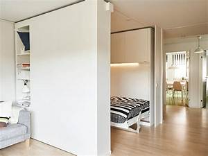 Ikea built a moveable wall to help people live big in tiny for Interior design movable walls