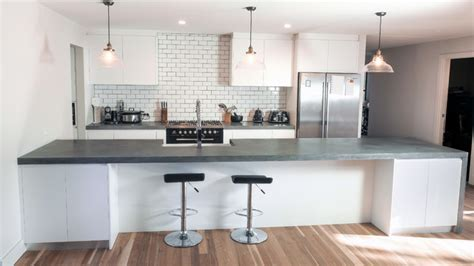 Concrete Kitchen Benchtops