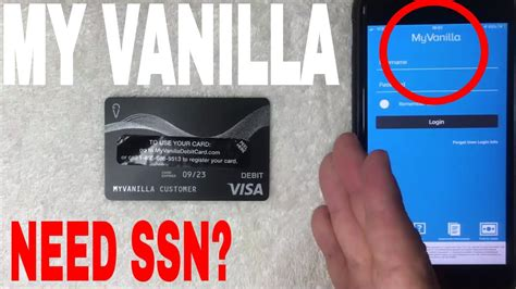 This will get the ball rolling for. Do You Need Social Security Number SSN To Get My Vanilla Prepaid Visa Card? 🔴 - YouTube