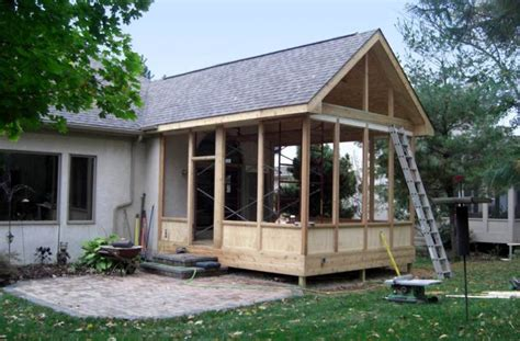 diy screened in porch best screened in porch design idea bistrodre porch and