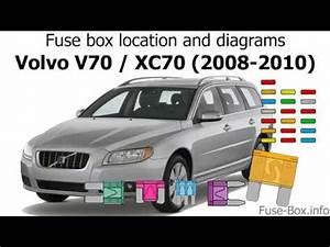 Fuse Diagram For 1998 Volvo V70 : fuse box location and diagrams volvo v70 xc70 2008 ~ A.2002-acura-tl-radio.info Haus und Dekorationen