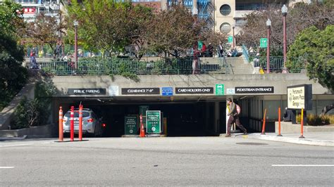Portsmouth Square Plaza Garage  Parking In San Francisco