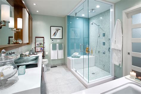 Tiffany Blue Paint Colors-contemporary-bathroom