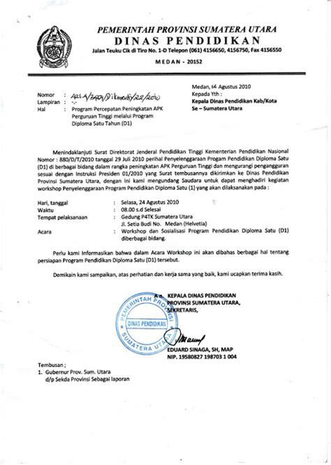 Contoh Surat Dinas Undangan Menurut Administrasi Perkantoran by Jenis Jenis Surat Ilmu Pengetahuan