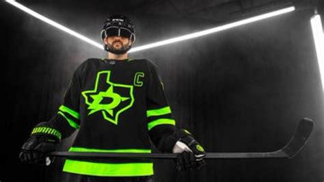 dallas stars unveil blackout alternate jersey