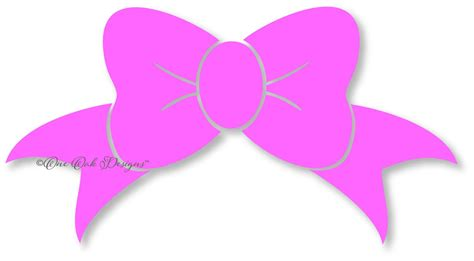 Bow Svg Dxf Pdf Eps Png Jpg Silhouette Studio Design Files For