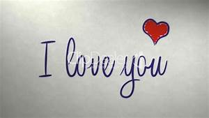 I love you message on newspaper: Royalty-free video and ...  You