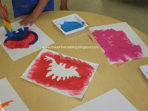 dinosaur projects for preschool for the children volcanoes and dinosaurs and summer oh 691