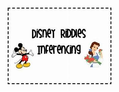 Disney Riddles Inferencing Classroom Riddle Character Mouse