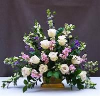 pictures of flower arrangements Classic Triangle Church Flower Arrangement - Flower Magazine