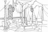 Coloring Living Colorear Dibujos Bedroom Colouring Sala East Printable Ausmalen Dibujo Supercoloring Colorare Oriente Estar Interior Wohnzimmer Imprimir Ausmalbilder Gratis sketch template