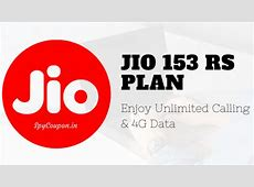 Jio 153 Plan 500 MB Day Unlimited 4G Internet SpyCoupon