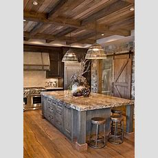 Pin By Paul Lee On House Ideas  Rustic Kitchen Cabinets