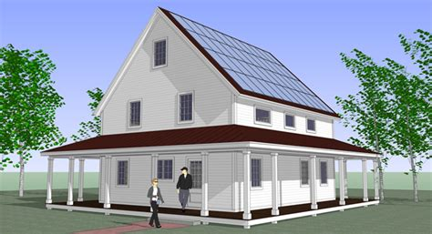 Prefab Home Kits by Prefab Smarthomze Are Affordable Net Zero Energy Kits For