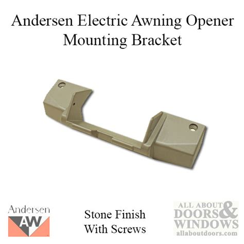 andersen electric opening awning window operator mount