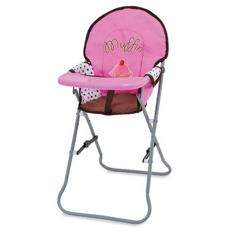 chaise haute jouet club chaise haute de muffin