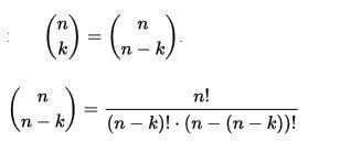 binomialkoeffizienten beweisen von  ueber   ueber