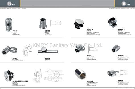 parts for glass shower doors stainless steel hardware for shower door 8018 kmry