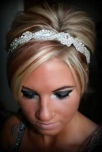 SWEETHEART Bridal Rhinestone Headband Wedding Bridal