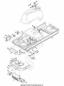 Troy Bilt 17afcacs011 Mustang 42 Xp  2013  Parts Diagram For Frame  U0026 Electrical