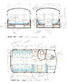 Short School Bus Conversion Floor Plans