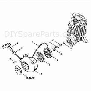 Stihl Br 550 Backpack Blower  Br 550  Parts Diagram