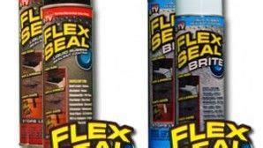 flex seal sealant spray    tv item home