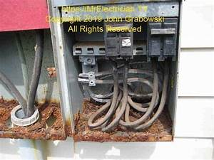 Circuit Breaker Panel Interior Rust