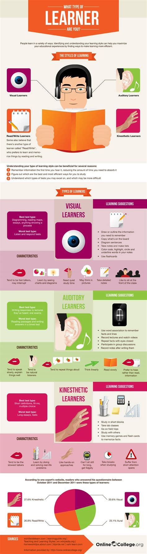 What Kind Of Learning Style Do You Have?  3bug Media