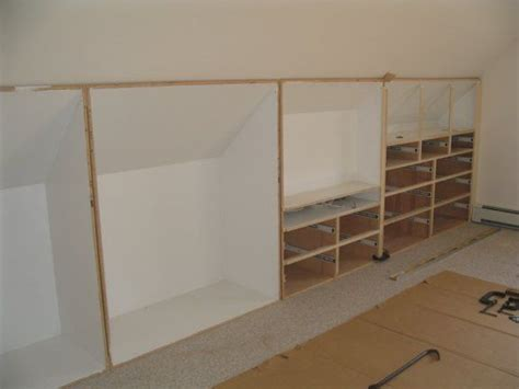 1000 ideas about knee walls on attic storage