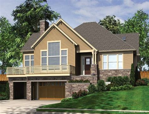 Sloped Lot House Plans Homeowner Benefits House Plans