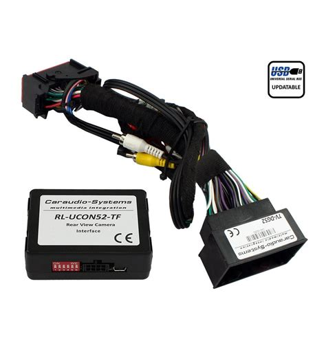 jeep uconnect rear view camera input coding  video