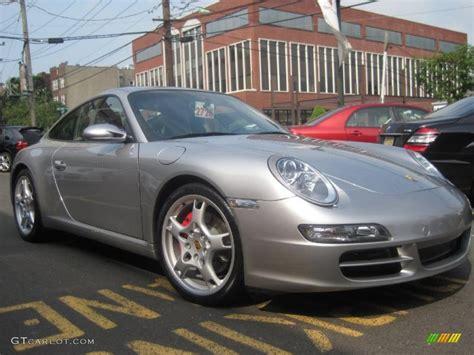 silver porsche carrera 2006 gt silver metallic porsche 911 carrera s coupe