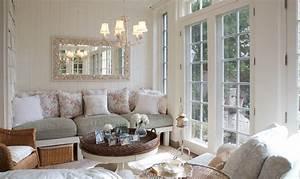 Obývací pokoj v provensálském stylu