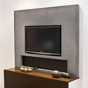 Tv Wand Design : tv wand zelf maken m bel design idee f r sie ~ Sanjose-hotels-ca.com Haus und Dekorationen