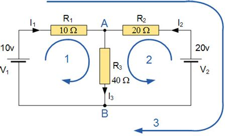 Kcl Dot Diagram by A Brief On Kirchhoff S Laws With Circuit Diagram
