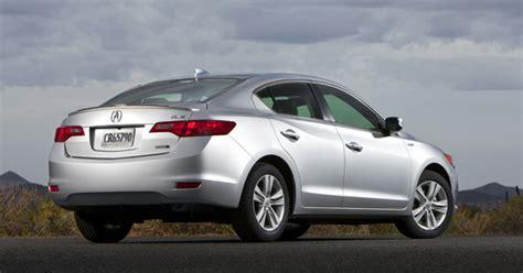 Acura Ilx Hybrid A Smart Choice For Entry-level Luxury