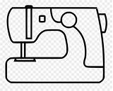 Machine Svg Sewing Coloring Graphic Clipart Icon Pinclipart Sheet sketch template