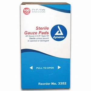 Sterile Gauze Bandages - E-firstaidsupplies.com
