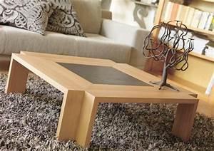 Table De Salon Moderne : modele de table de salon moderne 1 proximit233 de tout canap233 rien de mieux quune jolie ~ Preciouscoupons.com Idées de Décoration
