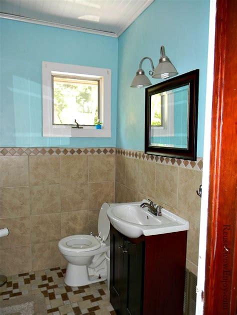 Bathroom Remodel Diy by Frugal Diy Bathroom Remodel Reuse Grow Enjoy