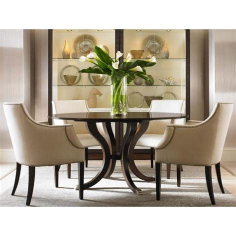 century tribeca table  chair set baers furniture