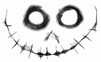 Creepy Transparent Scary Eyes Clip Smile Clipart